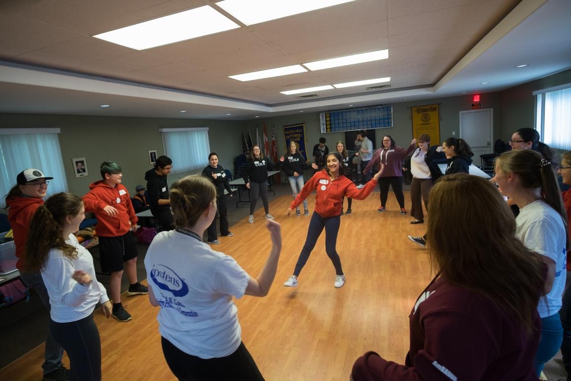 Purple Stage Door Productions Dance Workshop